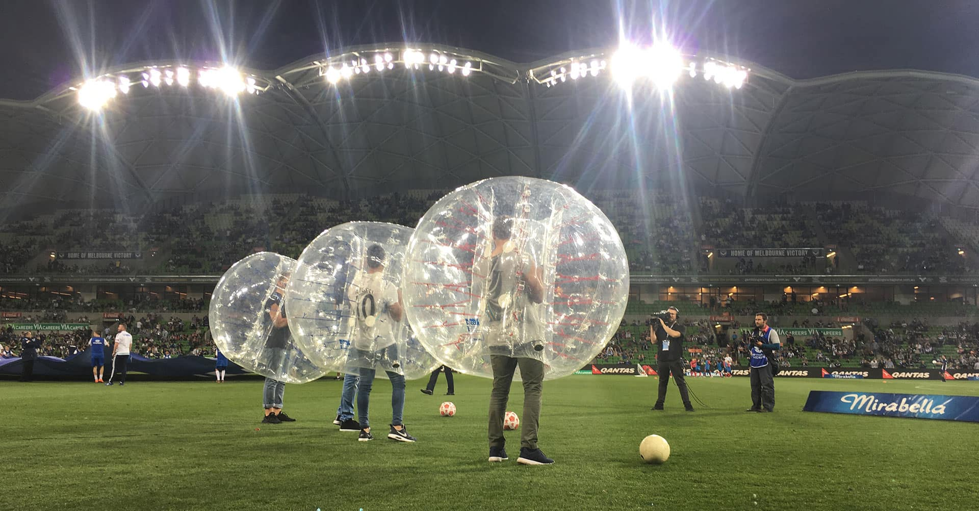 Ultimate  bubble <br>Soccer